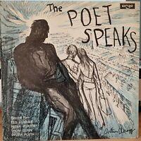 Hughes, Plath, Gunn, Porter – The Poet Speaks, Record 5 - 1965 mono LP Record