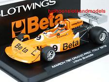 W045-02 Slotwings March 761 GP Italy 1976 - Vittorio Brambilla - New & Boxed