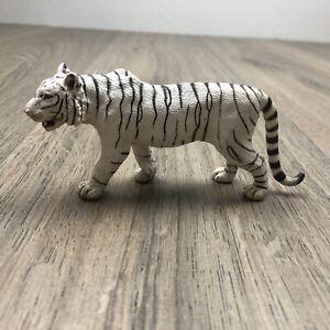 Schleich White Male Tiger - RETIRED - No 14382 In Good Condition