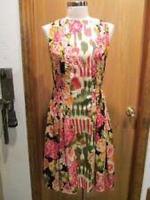 Oscar de la Renta Ruby Silk Sleeveless Dress Size 8 NEW $1690