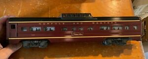 Lionel 6-9567 Norfolk & Western Aluminum Vista Dome Car LN/Box