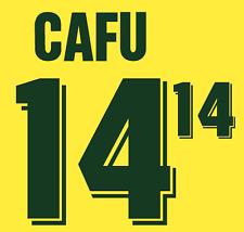 Brazil Cafu Nameset 1994 Shirt Soccer Number Letter Heat Print Football Home