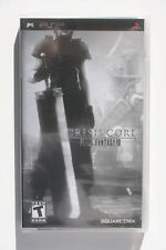 Crisis Core Final Fantasy VII Limited Edition Metallic Foil Cover PSP NEW Y-FOLD