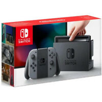 Nintendo Switch Console with Gray Joy-Con Game Wireless Controller - 32GB