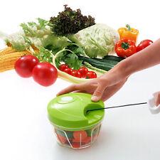 Kitchen Onion Vegetable Chopper Hand Speedy Chopper Fruit Chop Shredder Slicer