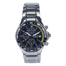 Croton Men's CC311359YLBK Quartz Chronograph Silver-Tone Bracelet 42mm Watch