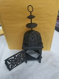 Moroccan Style Candlestick Hollowed Tea Light Holder Garden Lantern Decor J-8