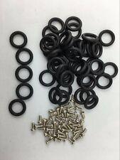 3 3/4 GI Joe Cobra Action Force orings O-Rings bands 50x (O-Rings + Screws) M773
