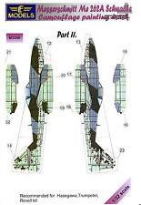LF Models 1/32 MESSERSCHMITT Me-262A SCHWALBE Camouflage Paint Mask Set Part 2