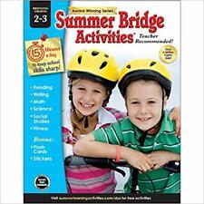 Summer Bridge Activities - Grades 2 - 3.by Summer Bridge Activities Paperback