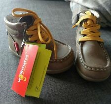 Marks and Spencer Boots with Upper Leather Shoes for Boys