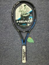 "Head Graphene Laser MP Midplus Tennis Racket Grip Size 4 3/8"" Factory Strung"