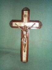 Last Rites Sick Room Crusifix Jeweled Cross Co Mass 1940-50's