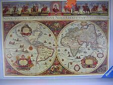 Ravensburger Jigsaw Puzzle OLD WORLD MAP Ancient Earth Globe 3000 Pieces