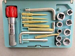 Vintage bell & Howell tool kit used
