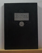 1931 Franklin & Marshall Academy Yearbook - The Epilogue - Lancaster PA Annual