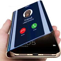 Mirror Luxury View Flip Folio Phone Case Cover For Xiaomi Redmi K20 Pro 7A 6A S2