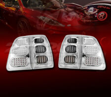 FOR 98-05 TOYOTA LAND CRUISER DIAMOND CUT LED LOOK TAIL BRAKE LAMPS LIGHTS 4PCS