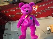 MILLENIUM THE BEAR  TY BEANIE BABY  RETIRED NEW 8 INCHES