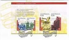 Australia 2000 FDC blok 35 - Towards Federation