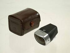 CANON view finder Sucher 25 25mm vintage rangefinder Messsucher LTM M39 top /18K