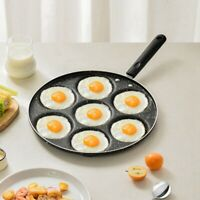 7 Holes Pancake Frying Pans Non Stick Breakfast Burger Maker Pan Cookwares