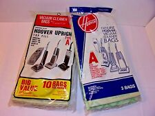 Hoover Upright 13 Top Fill Vacuum Cleaner Bags Type A Includes Convertible