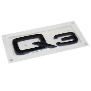 ORIGINAL Audi Emblem Logo Schriftzug schwarz Q3 8U0853741A T94