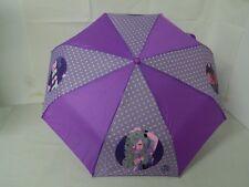 Ombrello pioggia IL MONDO DI PATTY bambina ragazza Viola stampe colorate G11
