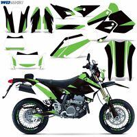 Decal Graphic Kit Suzuki DRZ400 DRZ 400 SM E Dirt Bike Sticker w Backgrounds MO