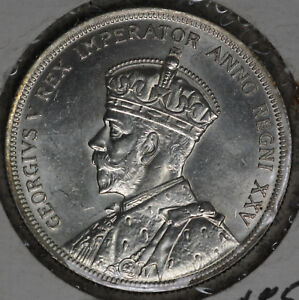 Beautiful Uncirculated 1935 Canada Silver Dollar!