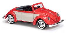 Busch 46710 HO (1/87): Volkswagen - Hebmüller Cabrio, rood/beige