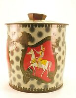 Vintage Baret Ware Queen Of Hearts Biscuit, Tea Tin England