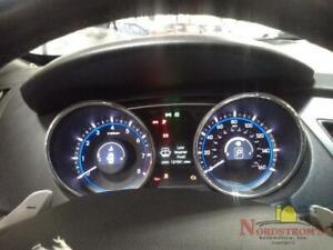 2013 Hyundai Sonata SPEEDOMETER INSTRUMENT CLUSTER GAUGES