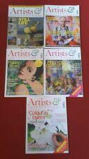Artists & Illustrators Magazine bundle joblot 5 magazines 2014