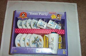 1997 Tootsie Toys 'Toon Party Tea Service Set for girls