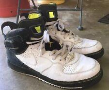 Jordan AJF 6 LS Mens 11 White/Black-Lime 343064-103 Air Force Fusion High Tops