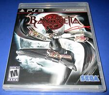 Bayonetta Playstation 3 - PS3 - *New!! Factory Sealed!! Free Shipping!!