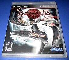 Bayonetta PS3 - Factory Sealed!! Free Shipping!!