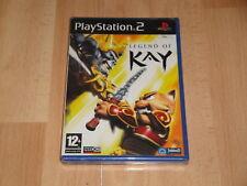 LEGEND OF KAY DE NEON STUDIOS - JOWOOD PARA LA SONY PS2 NUEVO PRECINTADO