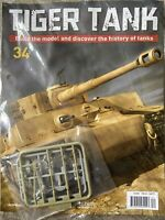 1/16 HACHETTE BUILD YOUR OWN TIGER MODEL TANK ISSUE 34 INC PART