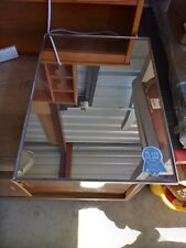 Vintage Triangle Products Mirrored Medicine Cabinet
