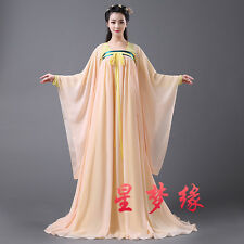 Chinese Women Tang Dynasty Ruqun Hanfu Suit Cosplay Dress Dramaturgic Costume @