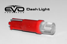5 Red T5 LED Bulbs for Car, Truck Dashboard, Speedometer, Instrumental Cluster