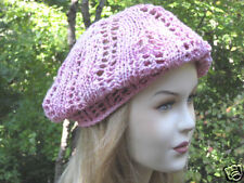 Tilli Tomas Silk Chenille Hat Knit PATTERN by Linda Wish