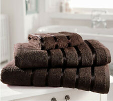 PACK OF 2 CHOCO LUXURY & SOFT BATH SHEETS IN 100% EGYPTIAN COTTON FREE POSTAGE