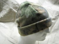 camo advantage timber fleece polyester nordic gear cap hat heavy