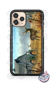 Country Life Barn White-Tailed Deer Phone Case For iPhone Samsung S20 LG Google