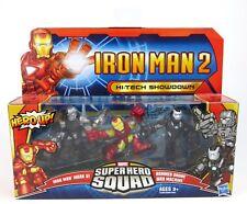 Marvel Super Hero Squad-IRON MAN 2 HI-TECH Showdown Action Figure Set