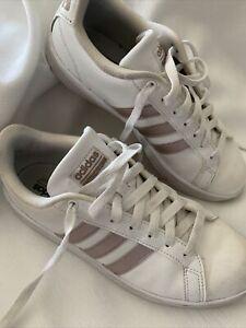 Adidas Cloudfoam Ortholite Float White & Rose Gold Women's Size 8.5